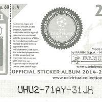 Back Of Sticker